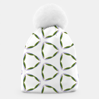 Thumbnail image of Olive Leaves Pattern Beanie, Live Heroes