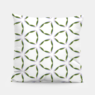 Thumbnail image of Olive Leaves Pattern Pillow, Live Heroes
