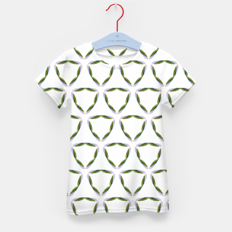 Thumbnail image of Olive Leaves Pattern Kid's t-shirt, Live Heroes