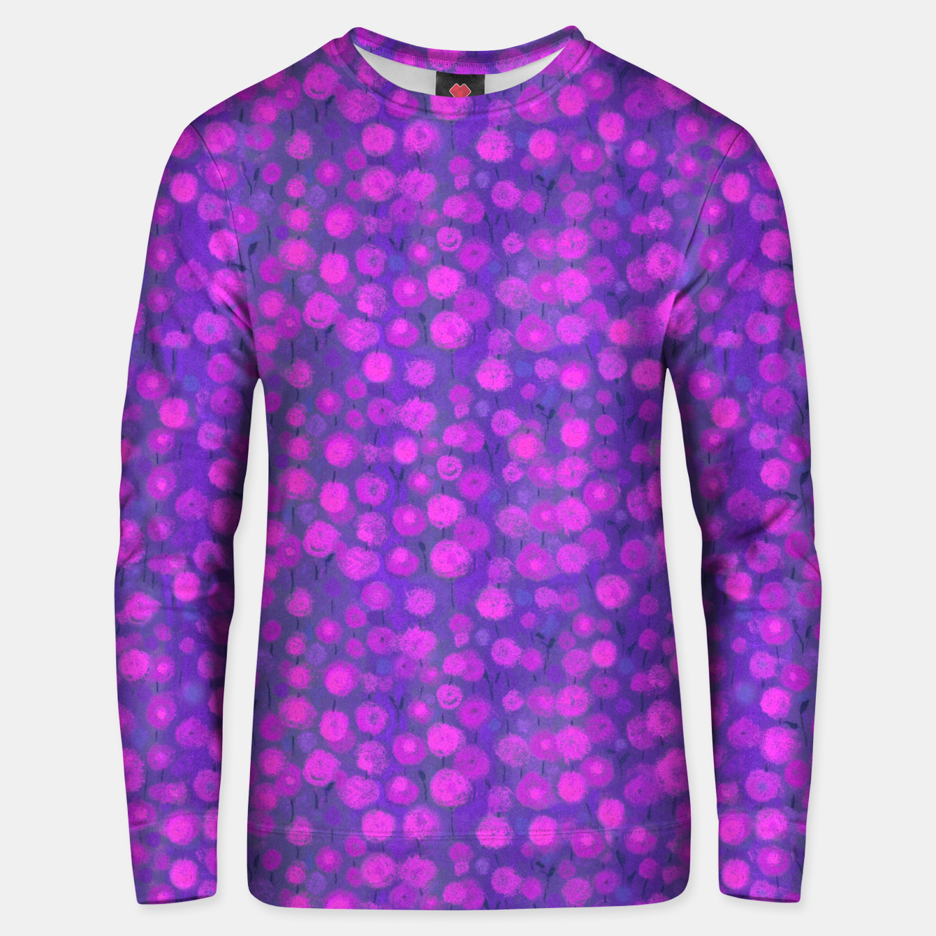 Image of Candi Field, Purple & Pink Cotton sweater - Live Heroes