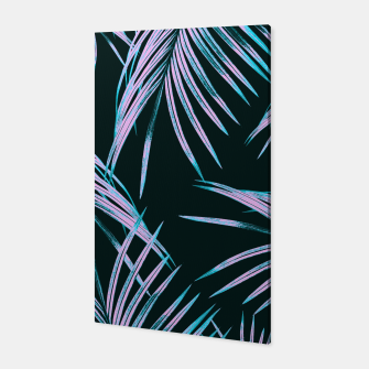 Thumbnail image of Tropical Palm Leaves Dream #1 #tropical #decor #art Canvas, Live Heroes