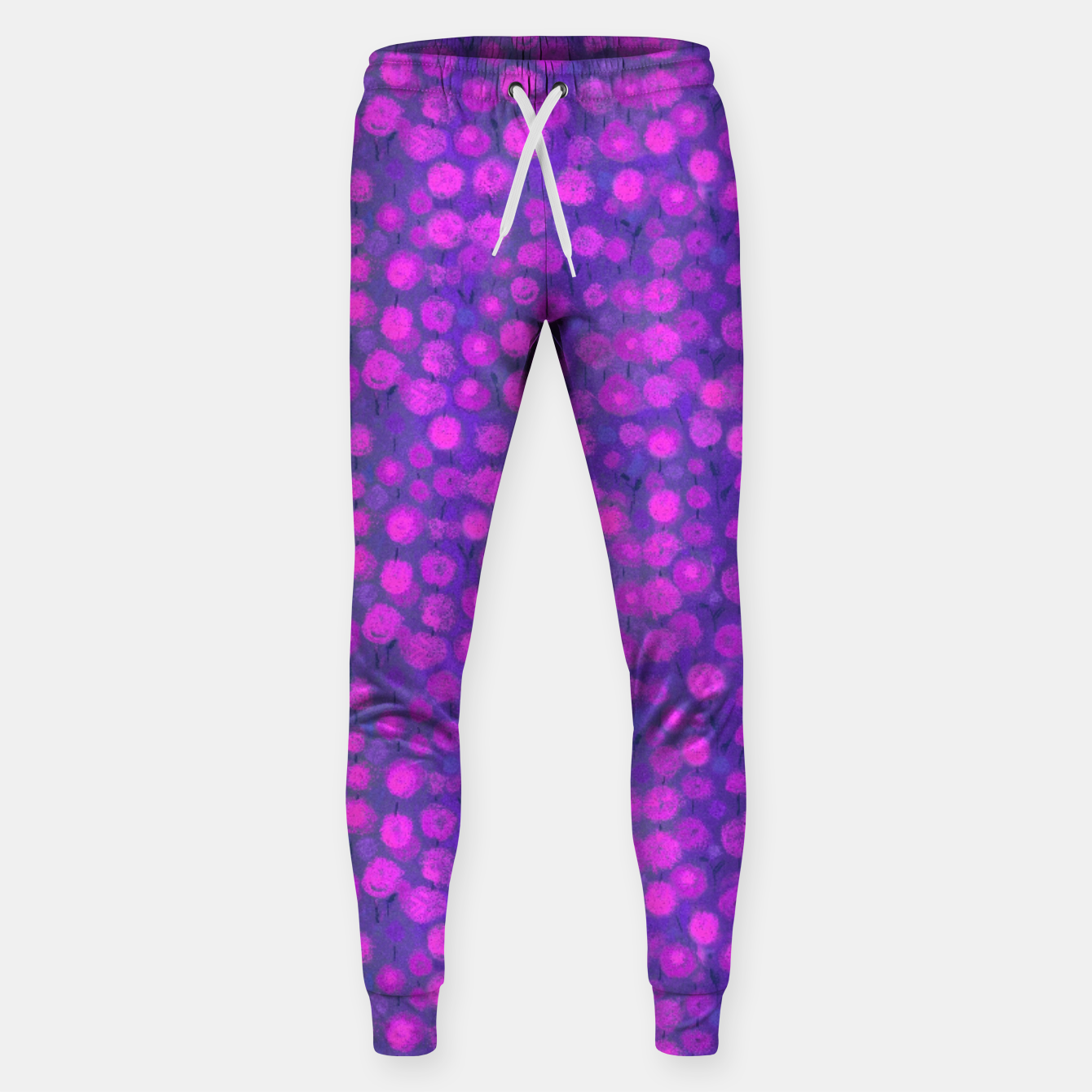 Image of Candi Field, Purple & Pink Cotton sweatpants - Live Heroes
