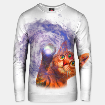 Miniatur Cat The Space Cotton sweater, Live Heroes