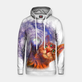 Miniatur Cat The Space Cotton hoodie, Live Heroes