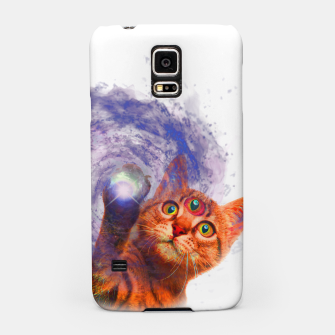 Miniatur Cat The Space Samsung Case, Live Heroes