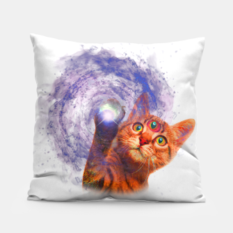 Miniatur Cat The Space Pillow, Live Heroes