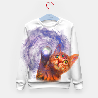 Miniatur Cat The Space Kid's sweater, Live Heroes