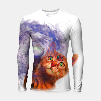 Miniatur Cat The Space Longsleeve rashguard , Live Heroes