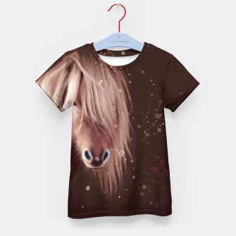 """Thumbnail image of """"PONY"""" T-Shirt für kinder, Live Heroes"""