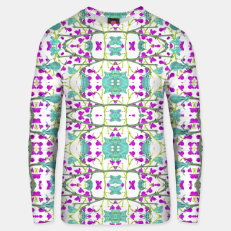 Miniaturka Colorful Modern Floral Pattern Cotton sweater, Live Heroes