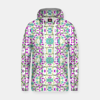 Miniaturka Colorful Modern Floral Pattern Cotton hoodie, Live Heroes