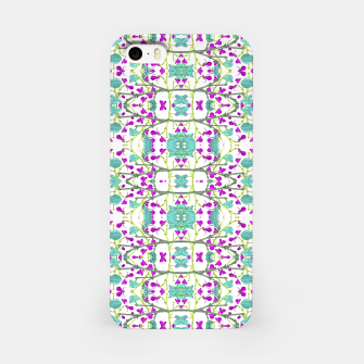 Miniaturka Colorful Modern Floral Pattern iPhone Case, Live Heroes