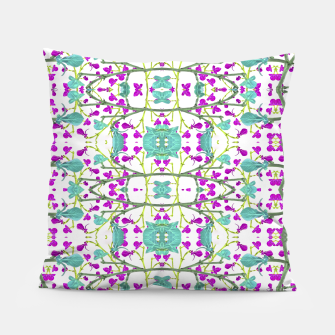 Miniaturka Colorful Modern Floral Pattern Pillow, Live Heroes