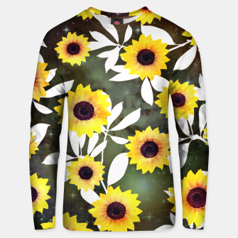 Thumbnail image of Sunflower galaxy Cotton sweater, Live Heroes