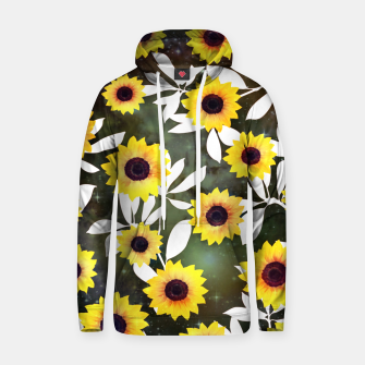 Thumbnail image of Sunflower galaxy Cotton hoodie, Live Heroes