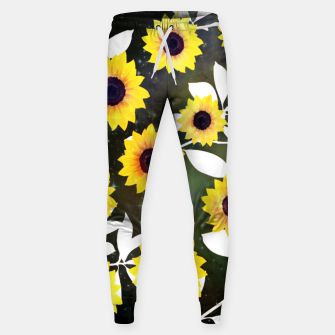 Thumbnail image of Sunflower galaxy Cotton sweatpants, Live Heroes