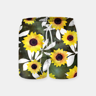 Thumbnail image of Sunflower galaxy Swim Shorts, Live Heroes