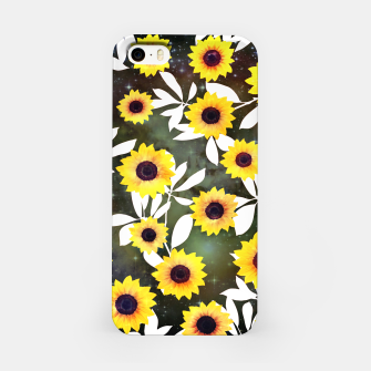 Thumbnail image of Sunflower galaxy iPhone Case, Live Heroes