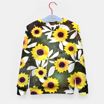 Thumbnail image of Sunflower galaxy Kid's sweater, Live Heroes