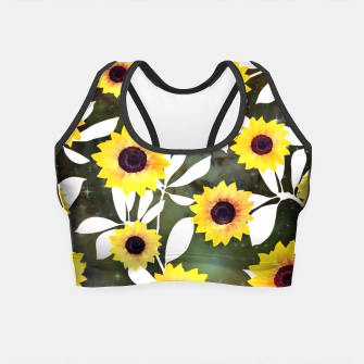 Thumbnail image of Sunflower galaxy Crop Top, Live Heroes