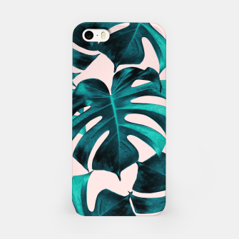 Thumbnail image of Tropical Monstera Leaves Dream #7 #tropical #decor #art  iPhone-Hülle, Live Heroes