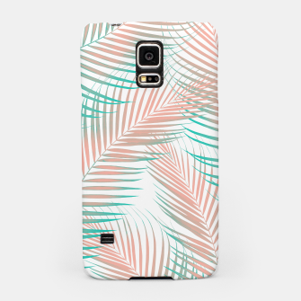 Thumbnail image of Palm Leaves - Cali Vibes #1 #tropical #decor #art Handyhülle für Samsung, Live Heroes
