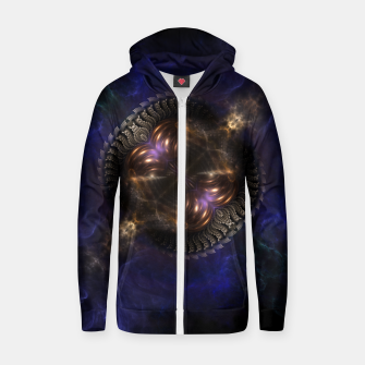 Thumbnail image of TransThorian V2 Cotton zip up hoodie, Live Heroes
