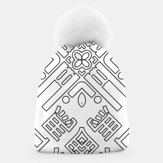Thumbnail image of IdiForm Typography Mix Beanie, Live Heroes