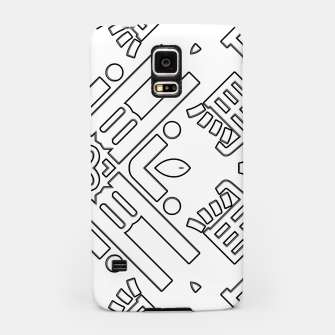 Thumbnail image of IdiForm Typography Mix Samsung Case, Live Heroes