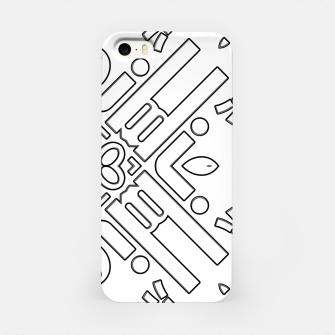 Thumbnail image of IdiForm Typography Mix iPhone Case, Live Heroes