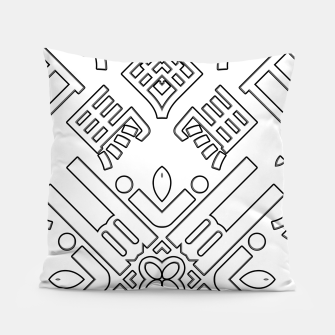 Thumbnail image of IdiForm Typography Mix Pillow, Live Heroes