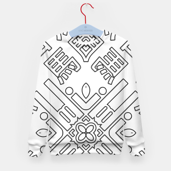Thumbnail image of IdiForm Typography Mix Kid's sweater, Live Heroes