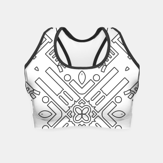 Thumbnail image of IdiForm Typography Mix Crop Top, Live Heroes
