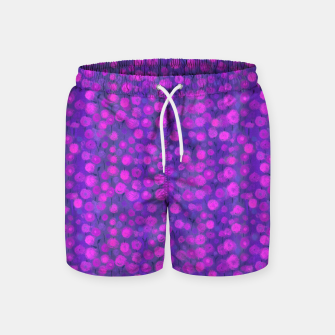 Thumbnail image of Candi Field, Purple & Pink Swim Shorts, Live Heroes