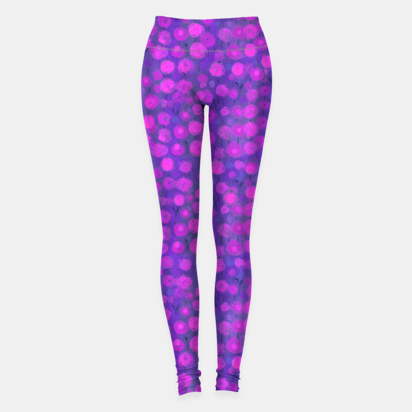 Image of Candi Field, Purple & Pink Leggings - Live Heroes