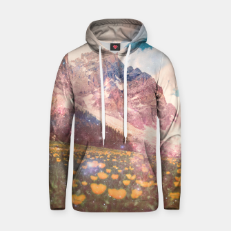 Thumbnail image of Fields In Time Cotton hoodie, Live Heroes
