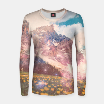 Fields In Time Woman cotton sweater thumbnail image