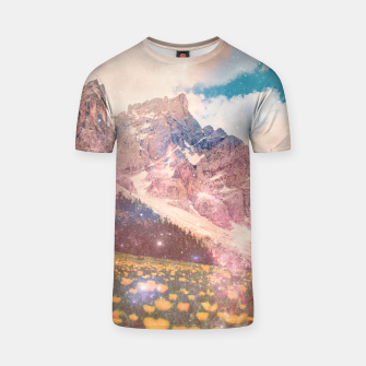 Thumbnail image of Fields In Time T-shirt, Live Heroes