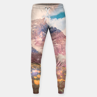 Thumbnail image of Fields In Time Cotton sweatpants, Live Heroes