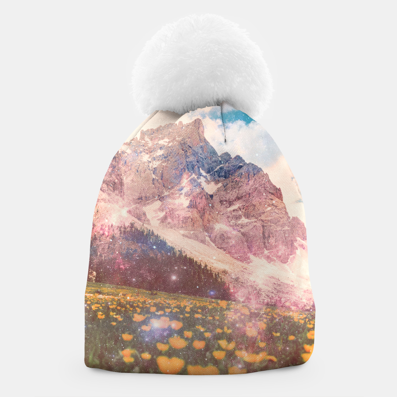 Image of Fields In Time Beanie - Live Heroes