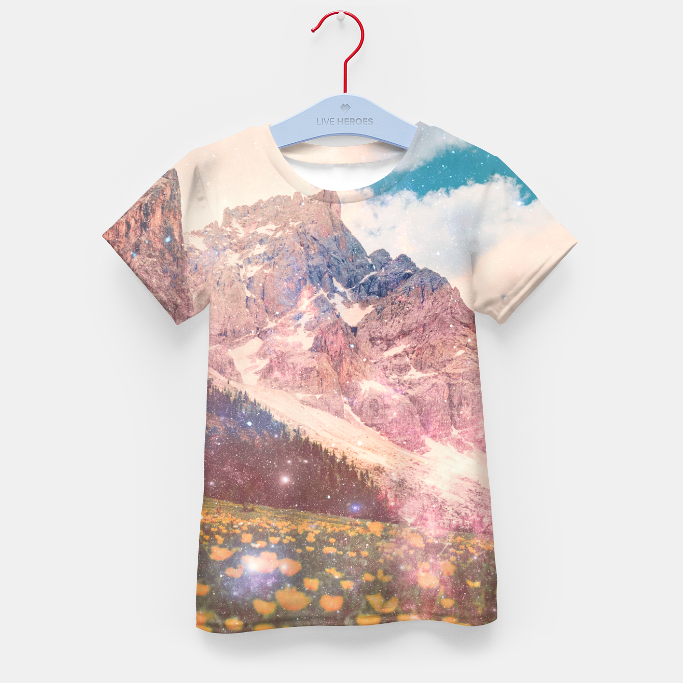 Image of Fields In Time Kid's t-shirt - Live Heroes