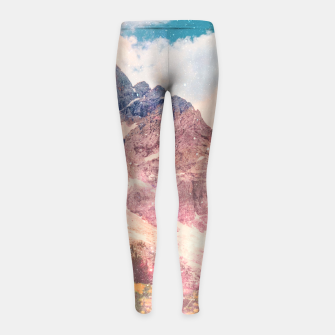 Thumbnail image of Fields In Time Girl's leggings, Live Heroes