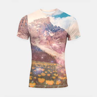 Thumbnail image of Fields In Time Shortsleeve rashguard, Live Heroes