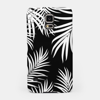 Thumbnail image of Palm Leaves Pattern Summer Vibes #4 #tropical #decor #art Handyhülle für Samsung, Live Heroes