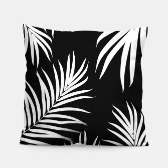 Thumbnail image of Palm Leaves Pattern Summer Vibes #4 #tropical #decor #art Kissen, Live Heroes