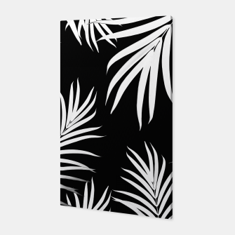 Thumbnail image of Palm Leaves Pattern Summer Vibes #4 #tropical #decor #art Canvas, Live Heroes