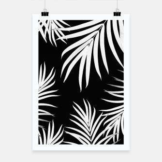Thumbnail image of Palm Leaves Pattern Summer Vibes #4 #tropical #decor #art Plakat, Live Heroes
