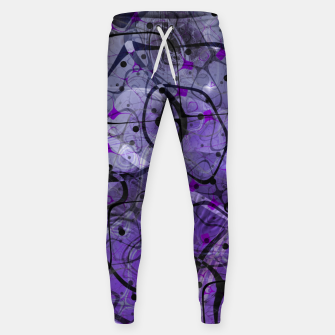 Messy Lavender Cotton sweatpants Bild der Miniatur