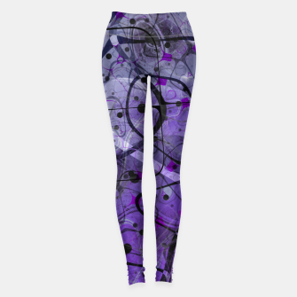 Thumbnail image of Messy Lavender Leggings, Live Heroes