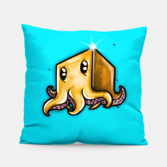 Thumbnail image of Cute little octopus  Pillow, Live Heroes